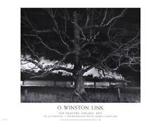 Max Meadows, Virginia 1957 by O Winston Link Photo Art Print Train Poster 32x24