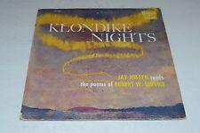 Klondike Nights~Joy Jostyn Reads the Poems of Robert W. Service~FAST SHIPPING!!