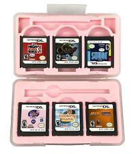 NakiWorld Pink Plastic Case Nintendo DS  Mariokart LPS Jonas Cooking Mama etc
