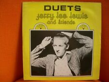 VINYL 33T –  JERRY LEE LEWIS & FRIENDS : DUETS – SUN REC 1978 / DISQUES DREYFUSS