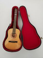 Tiny 10 Inch Acoustic Guitar With Hard Case