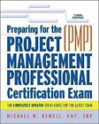 Preparing For The Project Management Professional (PMP) Certification Exam(pmp