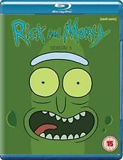 Rick and Morty Season 3 Blu-ray DVD Region 2