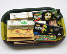11 Pieces - 1 X Rolling Tray + 8 X Rolling Papers + 2 X Paper Filter Tips