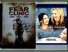 Thomas Dekker signed Fear Clinic DVD + BONUS My Sister's Keeper BLU RAY