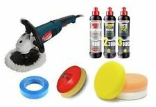 Silverline Menzerna Professional Rotary Machine Polishing Kit for Car Paintwork