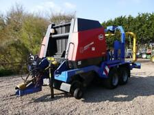 Bale Wrapper Vicon RV 1601 Opticut and Goweil G 5040 combination