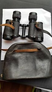Carl Zeiss 8x30 military NVA Army binoculars , case  RARE