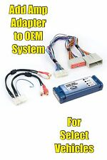 PAC AOEM-FRD24 Ford Add An Amp Amplifier Adapter Interface to OEM Factory System