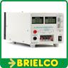 FUENTE ALIMENTACION LABORATORIO DIGITAL REGULABLE 0-30V 0-3A AUXIL 12V-5V BD1730