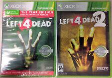 Left 4 Dead GoY Edition & Left 4 Dead 2 Platinum Hits (Xbox 360)