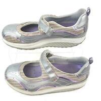 Skechers Shape Ups Toning Mary Jane Walking Womens 11810 Tie Shoes Size 11.