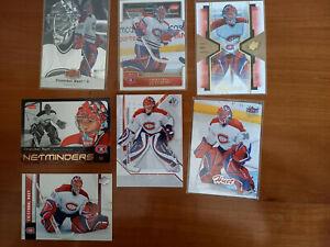 Lot de 7 cartes Cristobal Huet Canadien Montréal