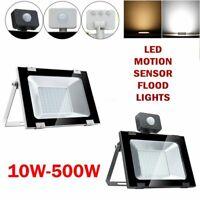 PIR Motion Sensor LED Flood Light 10W-500W Outdoor Security Flood Outdoor Lamp
