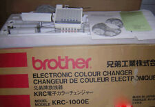 BROTHER KNITTING MACHINE AUTOMATIC COLOUR CHANGER KRC 1000E ORIGINAL Complete