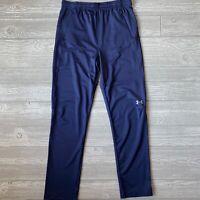 NEW NWT Under armour gym pants blue boys size XL