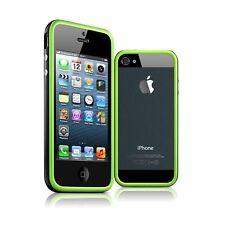 Coque Housse Bumper Pour iPhone 5 / 5S / SE HQ Vert / Noir + Film