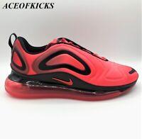 Nike Air Max 720 Bright Crimson Black US SZ 10.10.5 Men's AO2924-600