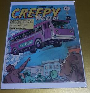 Creepy Worlds #186 Alan Class Comics 1979 Bronze Age 📖 Pre Spider-Man Ditko art
