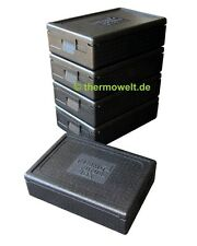5 x Profi Thermobox Isolierbox 1/1 GN 117mm Nutzhöhe, Thermobox 1 1 GN