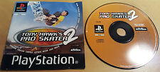 TONY HAWK'S PRO SKATER 2 for SONY PLAYSTATION 1 PS1, PS2 & PS3 disc & manual