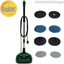 Portable Electric Floor Machine Cleaner Polisher Scrubber to Laminate Tile Wood