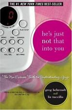 He's Just Not That Into You (Hardcover) Behrendt / Tuccillo Truth to Guys