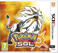 """Juego Nintendo 3DS """"Pokemon Sol"""""""