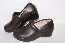 Jambu Cordoba Clog / Casual Shoes, #JB5COR34, Brown, Leather, Women's US Size 7