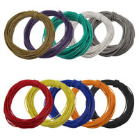 DX1210CN  10 ROLLS 1.0 AMP STRANDED EQUIPMENT WIRE 100 mtr New