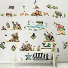 Walltastic 45439 - Wandaufkleber, Dschungelsafari Jungle Safari Wall Stickers