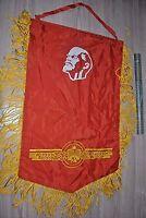 Russian USSR Soviet Pennant Banner Flag Lenin Communist Political Propaganda