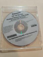 Windows XP Tablet Edition PANASONIC TOUGHBOOK CF-19 MK2-VBM-W RECOVERY DVD