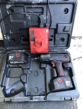 "Snap On Tools 18v High Output 1/2"" Drive Cordless Impact Wrench Gun In Case"