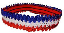 "12 1"" Stretch Sequin Headbands TEAM SETS Softball Dance Sports Wholesale"