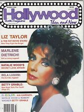 MARCH 1988 HOLLYWOOD STUDIO vintage movie magazine LIZ TAYLOR