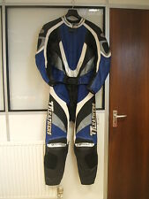 """TT LEATHER MENS MOTORCYCLE 2 PIECE SUIT CHEST APPROX 40"""" WAIST APPROX. 30"""""""
