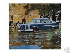 Altes Blechschild Oldtimer Mercedes Benz Werbung Reklame Afrika gebraucht used