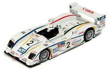 Ixo lmm058 AUDI R8 Champion Racing pressofusione modello auto J J LEHTO Le Mans 2004 1:43