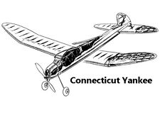 """Model Airplane Plans (FF): Connecticut Yankee 58"""" Class 'B' by Henry Struck"""