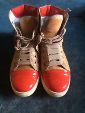 LANVIN High-Top Cap Toe Sneaker, Size  40/ US 10 - runs small, good for size 9