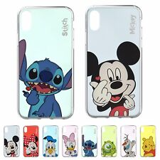 DISNEY Color Heart Jelly Cover for iPhone 12 11 Pro XS Max mini XR SE 8 7 6 Case