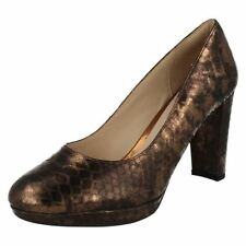 Block Party 100% Leather Court Heels for Women