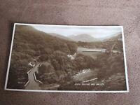 Valentine's Postcard - Aber bridge & Valley - Caerphilly Glamorgan Wales