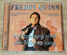 Freddy Quinn – In Hamburg sind die Nächte lang (2003) CD, Compilation, gebr.