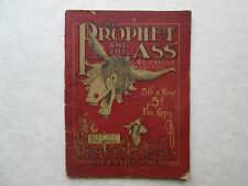 THE PROPHET AND THE ASS June 1912 Volume 1 No. 9 G. H. LOCKWOOD Kalamazoo Mich.