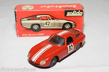 SOLIDO 100 SERIE 148 ALFA ROMEO GTZ RALLY RED MINT BOXED RARE SELTEN RARO