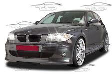 SOTTOPARAURTI ANTERIORE PER BMW E81 E87 04-07 SERIE 1 SPOILER KIT ESTETICO FA085