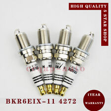 4pcs BKR6EIX-11 4272 Spark Plug for Lexus Honda CR-Z Suzuki Chevy Mitsubishi RVR