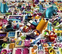 Lego Friends Minifigure Accessories Brush Food Furniture Treasure Sport Fun Girl
